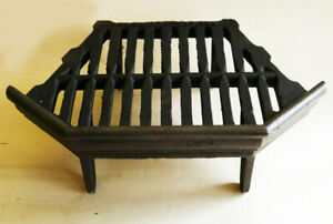 """Antique Fireplace Spares. Reclaimed Antique Replacement 12"""" Inset Fire Grate"""