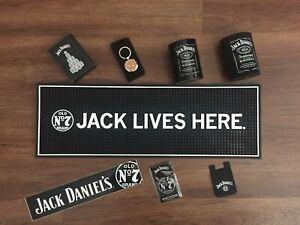 Jack Daniels Rubber Bar Mat + extras