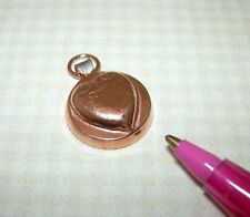 Dollhouse Miniature Copper Jello Mold with Hanging Loop #1