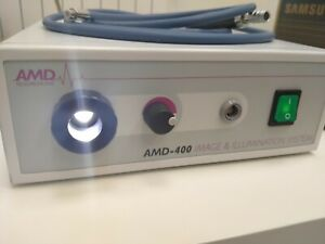 AMD 400 medical endoscope camera with LED light source Made in Germany