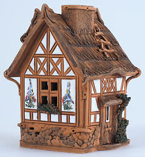 Ceramic house candle holder 'House from Fantasy collection' H13 cm, © Midene