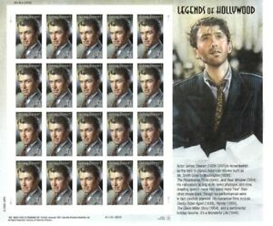 James (Jimmy) Stewart: Legends of Hollywood, Full Sheet 20 x 41 Cent Stamps, MNH