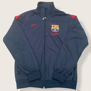 Barcelona Tracksuit Jacket Top Training Jacket - Size Large
