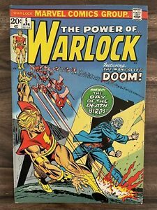 WARLOCK #5-1ST APPEARANCE DOCTOR DOOM OF COUNTER-EARTH GUARDIANS VF/NM 9.0