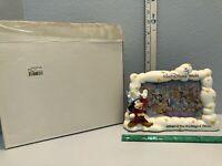 Walt Disney World Sorcerer Mickey 25th Anniversary Resin 4 x 6 Picture Frame MIB