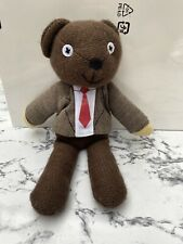 TY Mr Bean  Teddy Bear Beanie Soft Toy 2013 With Original Tags