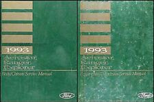 1993 Ford Aerostar Ranger Explorer Reparatur Shop Manual Set 93 Service Bücher
