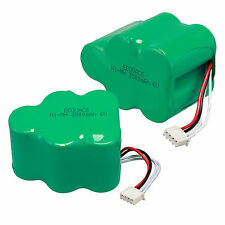 2× NI-MH 6V 3500mAh Rechargeable Battery For Ecovacs 650/680/710/720/730/760/T71