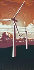 Shepard Fairey Windmill 2009 OBEY Giant Art poster print Signed/#'d Silkscreen