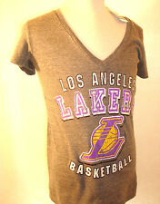 LOS ANGELES LAKERS NBA ** WOMEN'S LARGE V-NECK SHIRT **