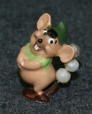 Disney Hagen-Renaker 1950s CINDERELLA Mouse Gus All Pearls!