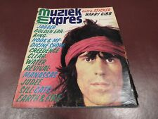 MUZIEK EXPRES  vintage european music magazine from June 1972