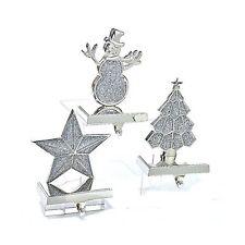 Christmas Stocking Holder Metal Hanger w Star H1601-STAR Kurt Adler by Kurt A...