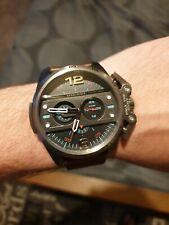 Mens Diesel Watch DZ4387 Brown leather strap