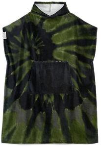 LEUS Tie Dye Camuflaje Poncho - Surf Poncho