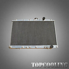 For Mitsubishi Lancer  EVO 1 2 3 Aluminum Alloy Radiator 2 Row/Core On Manual