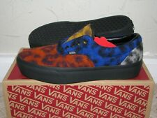 Vans Era Platform Fuzzy Leopard Blue Red Mens 9 / Womens 10.5 DS NEW! Skate BMX