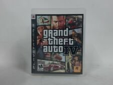 Grand Theft Auto Iv Playstation 3 Ps3 Complete In Box W/ Manual Cib Very Good