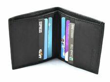 GHS LK-1181-Black Men's Leather Credit Card Holder Wallet