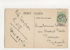 Miss Emmie Cotterell Chestnut Road Peverell Plymouth 1909  777a