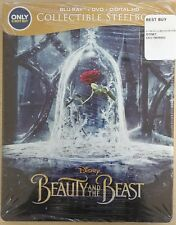 Beauty and the Beast Best Buy Exclusive Steelbook (Blu-ray, DVD, Digital HD)