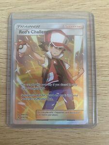 Pokemon Card Red's Challenge 213/214 SM Unbroken Bonds Holo Ultra Rare Full Art