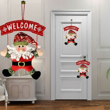 1Pcs Santa Claus Door Hanging Christmas Tree Home Decor Ornaments Xmas Gift