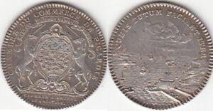 Jeton argent Chambre de Commerce de Picardie 1761