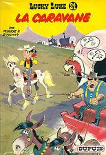 RARE EO 1964 MORRIS + GOSCINNY LUCKY LUKE N° 24 : LA CARAVANE