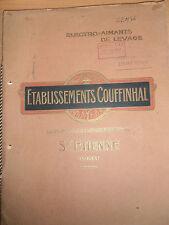 catalogue electro - aimants de levage Saint Etienne 42  année 1954 ( ref 18 )
