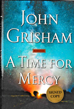 A TIME FOR MERCY JOHN GRISHAM SIGNED 1ST EDITION HARDCOVER 2020