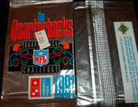 (1) 1991 Upper Deck Domino's Pizza The Quarterbacks CARD PACK (4 CARDS PER PACK)