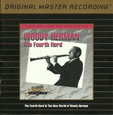 WOODY HERMAN: The Fourth Herd & The New World of MFSL UDCD 630 Audiphile vg+/vg+