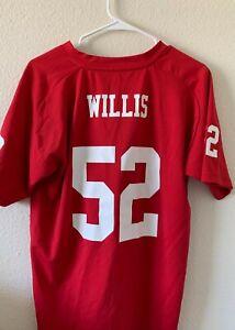 Patrick Willis jersey size Boys XL SF 49ers #52