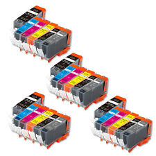 24 PK Printer Ink Set + chip fits Canon PGI-220 CLI-221 MP980 MP990 FAST SHIP