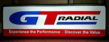 GT Radial Tires Experience the Performance Double Sided Lighted Sign Works VG