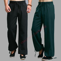 100% Cotton Tai chi Wing chun Pants Shaolin Kung Fu Martial arts Casual Trousers