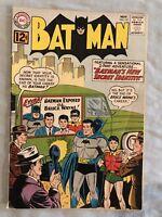 Batman 151 VG + DC Comics 1962 Batwoman Robin New Secret Identity Silver Age