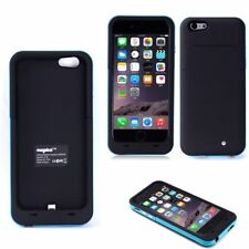 for iPhone 6 6s 4200mah External Power Battery Charger Charging Case Blue