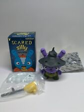 Kidrobot Scared Silly Dunny Series by Jenn & Tony Bot - Which Witch Purple