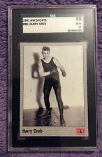 🥊 1991 AW Sports Boxing #88 Harry Greb - SGC 98 10 GEM MINT