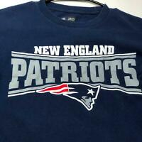 New England Patriots NFL Women's Long Sleeve Graphic T Shirt Small S Blue White