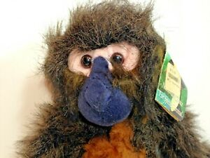 "Spider Monkey K&M Black Handed24"" Plush AZA Stuffed Animal Toy Hug Chimp TAG"