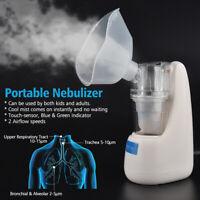 Inhalator Vernebler Nano Inhalationsgerät Ultraschall Set für Erwachsene Kinder