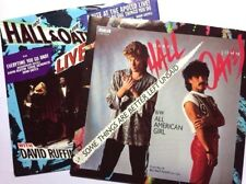 """DARYL HALL & JOHN OATES: (LOT OF 2) 7"""" 45RPM PICTURE SLEEVES ONLY, NEW!!"""