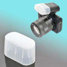 Canon Speedlite 90EX Flash Bounce Diffuser Soft Cap Semi-Transparent EOS M JJC