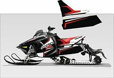 POLARIS RUSH PRO RMK  600 800 PRO R 120 136 SHORT TUNNEL  TANK DECAL STICKER 1