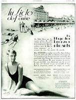 Publicité ancienne au Lido de Venise 1928 Lorenzi issue de magazine