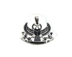 Pendant God Egyptian Khepri, The God Beetle Steel /5596