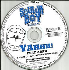 SOULJA BOY Tell Em  Main Version w/RARE INSTRUMENTAL PROMO DJ CD single 2007 USA